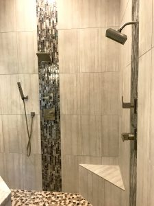 Kenny Cook Custom Homes East Memphis M Shower