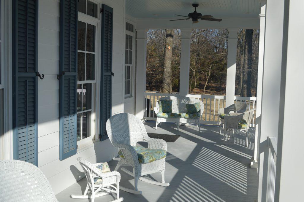 Cook Custom Homes Porch