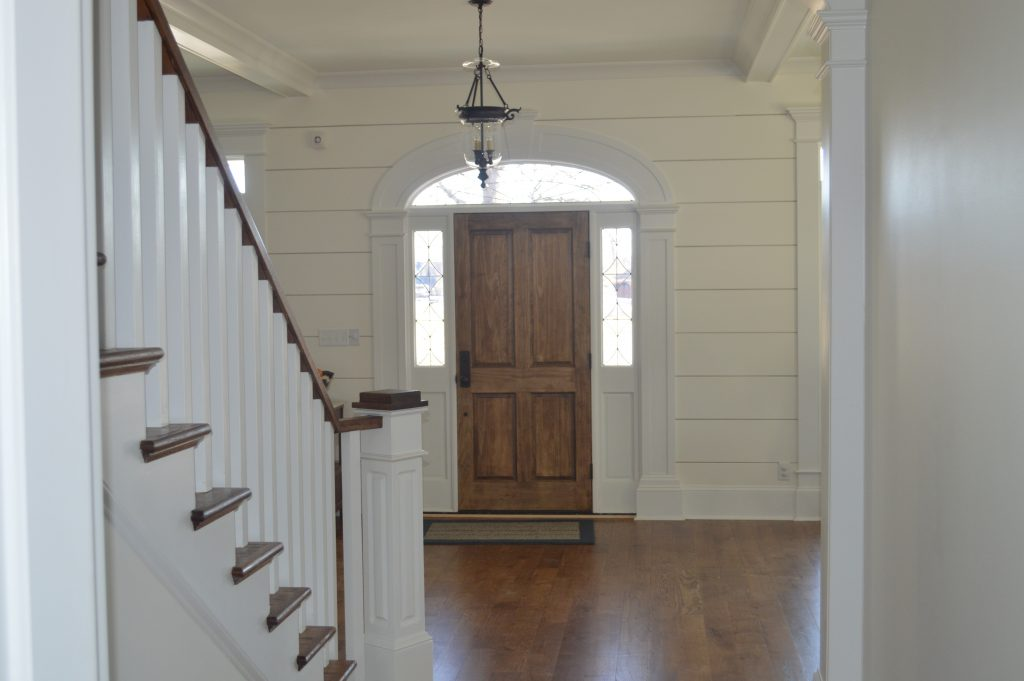 Cook Custom Homes Entrance and stairs